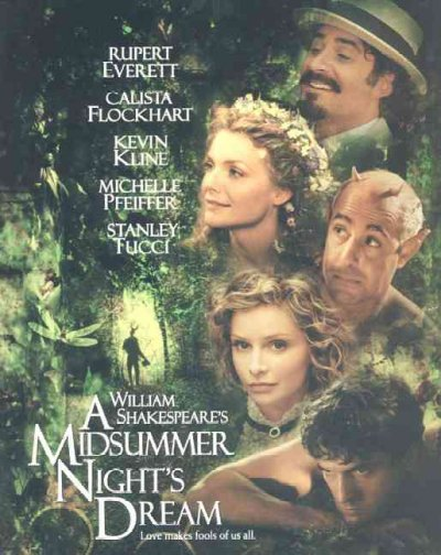 William Shakespeare's A Midsummer Night's Dream cover
