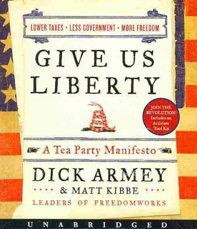 Give Us Liberty CD cover