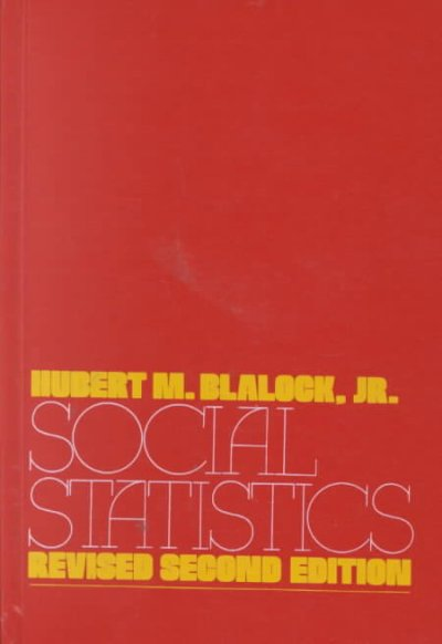 Social Statistics (McGraw-Hill Series in Sociology) cover