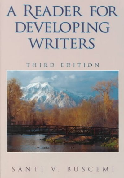 A Reader for Developing Writers cover