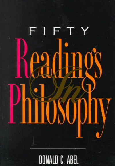 Fifty Readings In Philosophy cover