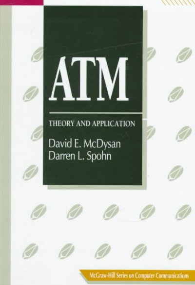 ATM: Theory and Application (Mcgraw-Hill Series on Computer Communications) cover