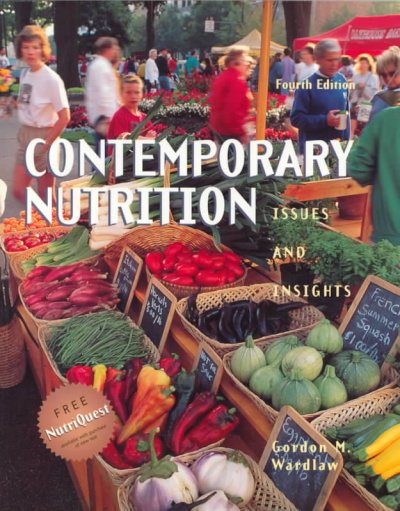 Contemporary Nutrition: Issues and Insights cover
