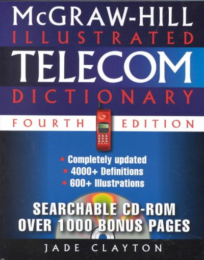 McGraw-Hill Illustrated Telecom Dictionary cover
