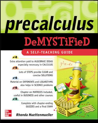 Pre-Calculus Demystified cover