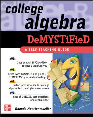 College Algebra Demystified cover