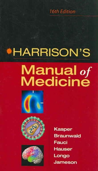 Harrison's Manual of Medicine: 16th Edition cover