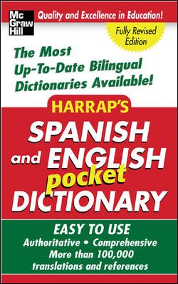 Harrap's Spanish and English Pocket Dictionary (Harrap's Dictionaries) cover