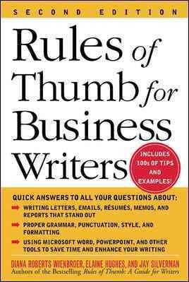 Rules of Thumb for Business Writers (Business Books)