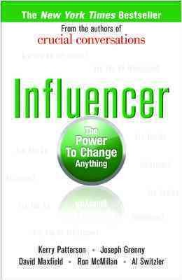 Influencer: The Power to Change Anything cover