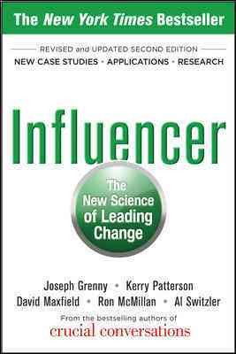Influencer: The New Science of Leading Change, Second Edition cover