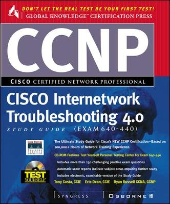 Ccnp Cisco Internetwork Troubleshooting Study Guide 4.0 Study Guide, Exam 640-440 cover