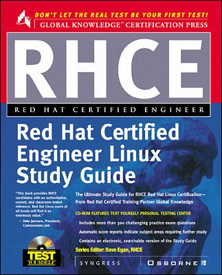 Rhce Red Hat Certified Engineer Study Guide cover