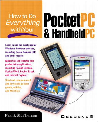 How to Do Everything with Your Pocket PC and Handheld PC cover