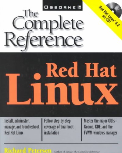 Red Hat Linux: The Complete Reference (Book/CD-ROM package) cover