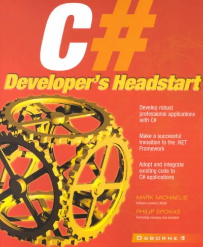 C# Developer's Headstart (Application Development) cover