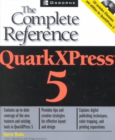 QuarkXPress 5: The Complete Reference (Osborne Complete Reference Series) cover