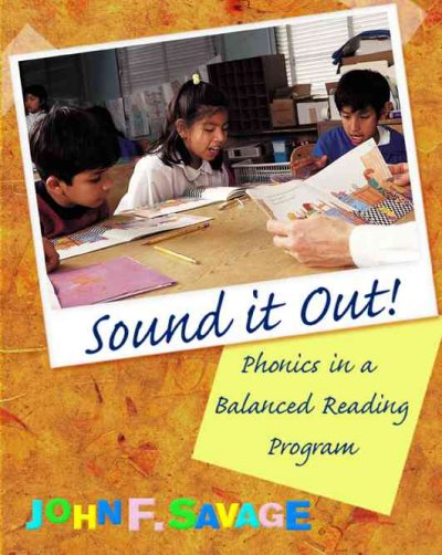 Sound It Out! Phonics in a Balanced Reading Program cover