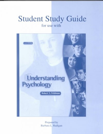 Student Study Guide for use with Understanding Psychology cover