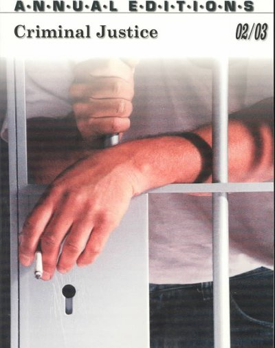 Criminal Justice (Annual Editions: Criminal Justice) cover
