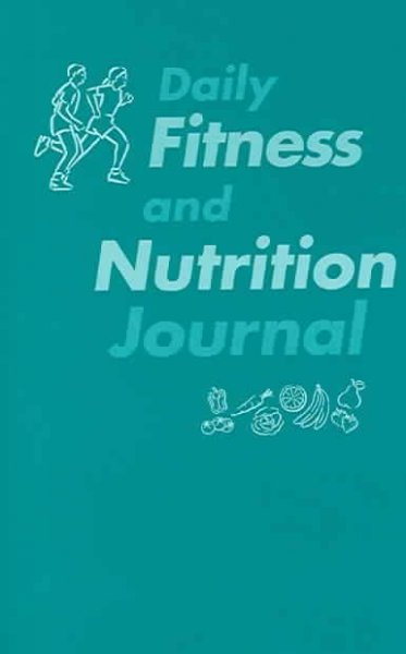 Daily Fitness and Nutrition Journal cover
