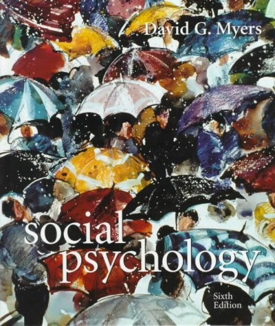 Social Psychology cover