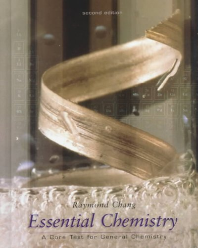 Essential Chemistry: A Core Text for General Chemistry cover