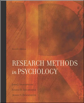 Research Methods In Psychology cover