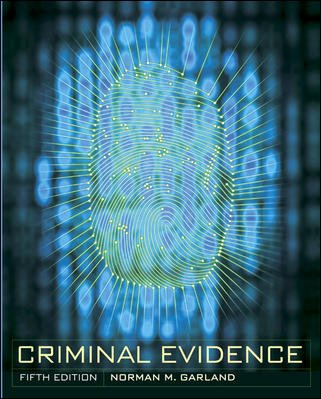 Criminal Evidence cover