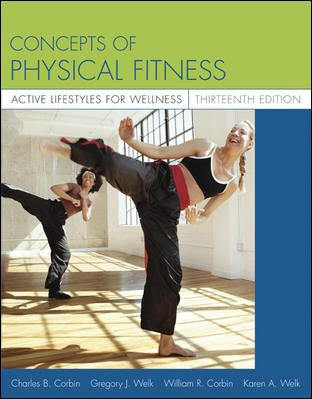 Concepts of Physical Fitness: Active Lifestyles for Wellness with PowerWeb cover