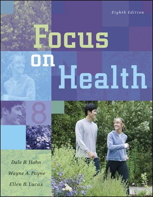 Focus on Health with Online Learning Center Bind-in Card cover