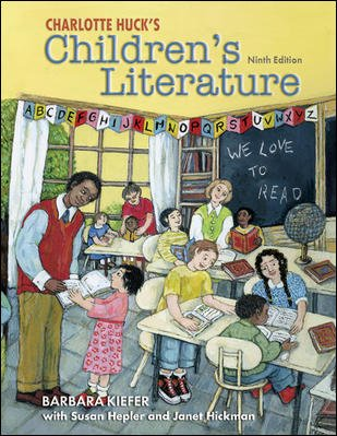 Charlotte Huck's Children's Literature with Online Learning Center card (Children's Literature in the Elementary School) cover