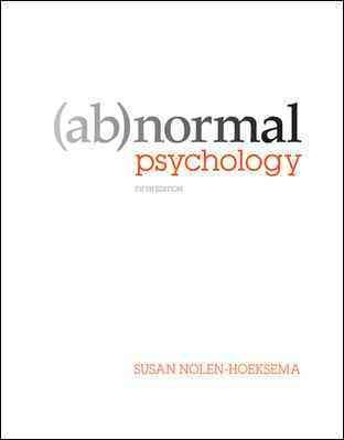 Abnormal Psychology cover