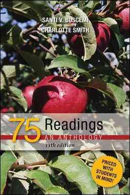 75 Readings: An Anthology cover