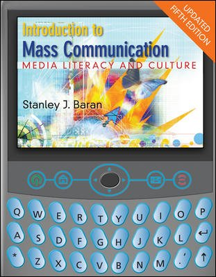 Introduction to Mass Communication: Media Literacy and Culture with Media World 2.0 DVD-ROM, Updated Fifth Edition cover