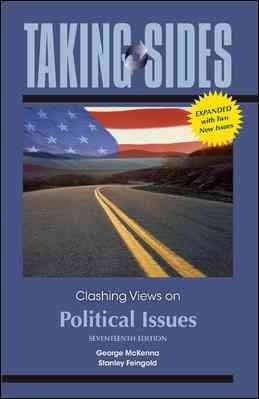 Taking Sides: Clashing Views on Political Issues, Expanded cover
