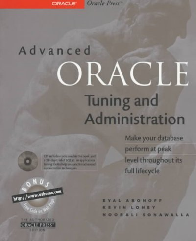 Advanced Oracle Tuning and Administration cover