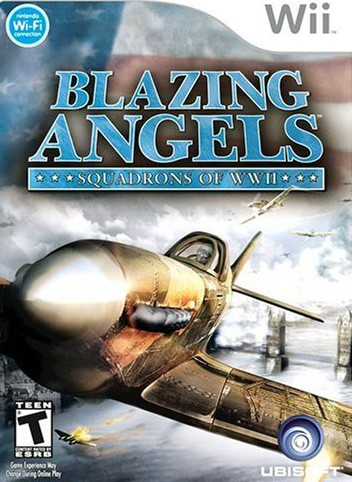 Blazing Angels: Squadrons of WWII - Nintendo Wii cover