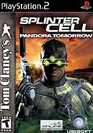 Tom Clancy's Splinter Cell: Pandora Tomorrow - PlayStation 2 cover