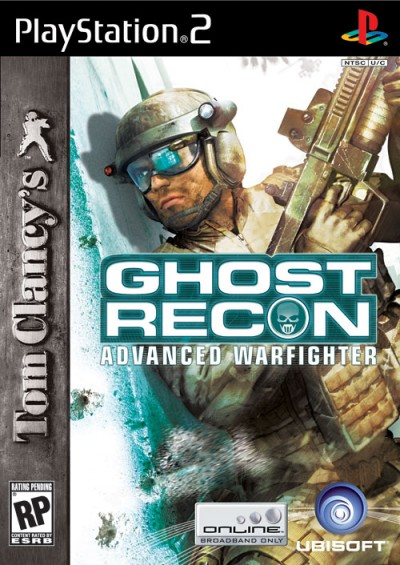 Tom Clancy's Ghost Recon:  Advanced Warfighter - PlayStation 2 cover