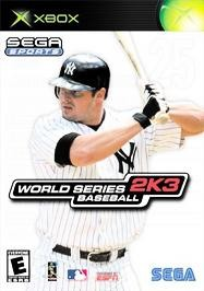 Sega Sports: World Series Baseball 2K3 - Xbox cover