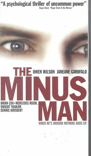 The Minus Man [VHS] cover