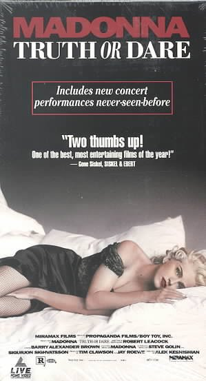 Madonna - Truth or Dare [VHS] cover