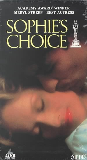 Sophie's Choice [VHS] cover