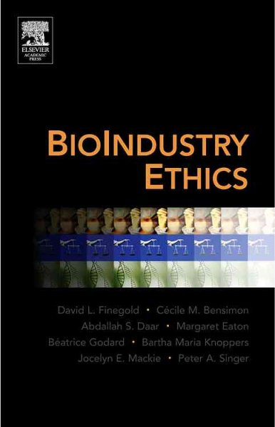 BioIndustry Ethics cover