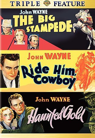 The Big Stampede / Ride Him, Cowboy / Haunted Gold cover