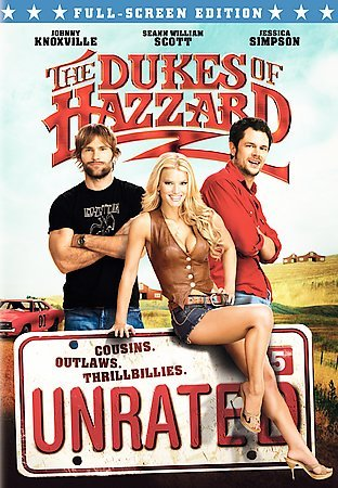 The Dukes of Hazzard (Unrated Full Screen Edition) cover