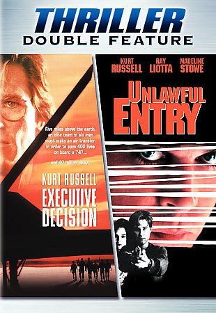 Executive Decision/Unlawful Entry (DVD) (DBFE) (Multi-Title) cover