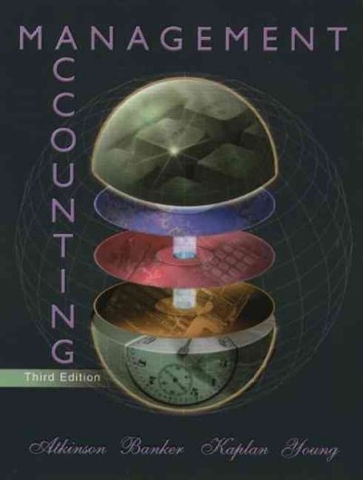 Management Accounting (3rd Edition) cover