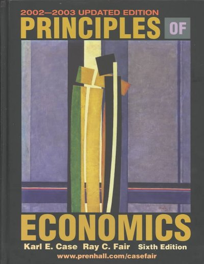 Principles of Economics, Updated Edition (6th Edition) cover
